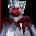 Red kangaroo male ghost