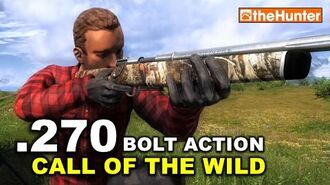 """TheHunter .270 Bolt Action Rifle """"Call of the Wild"""""""