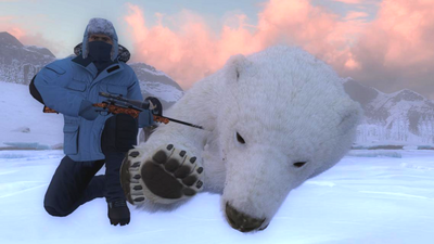 Trophy polarbear