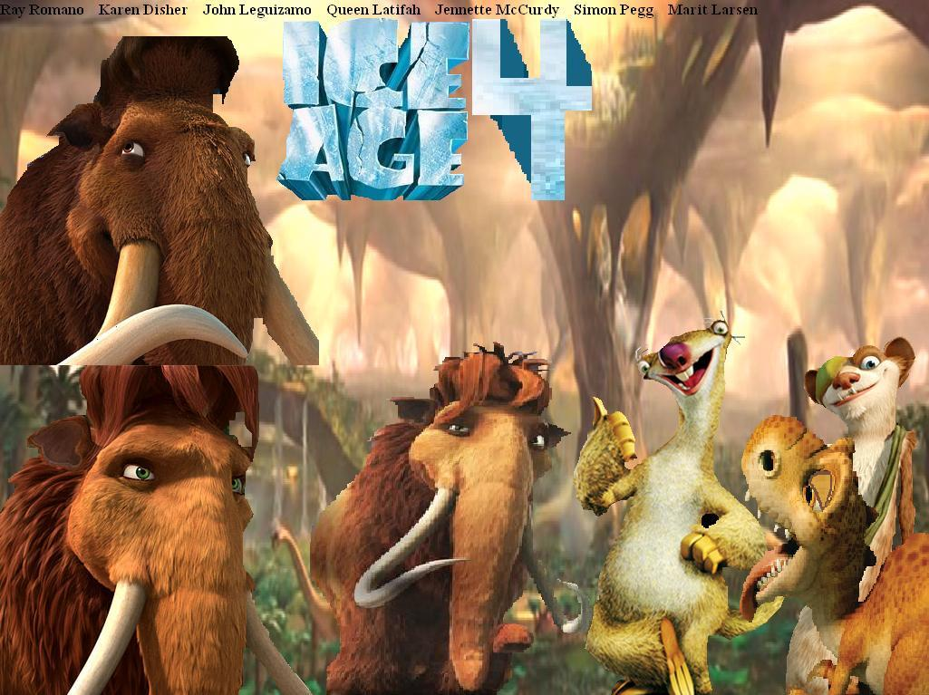 Fan:Ice Age 4 | Ice Ag... Ice Age 5 The Revenge Of Red Horn Momma Dino