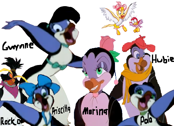 Image the pebble and the penguin ii png ice age wiki for Farcical characters