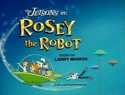 Rosey robot title