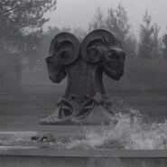 Fillory fountain statue