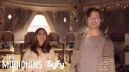 THE MAGICIANS 360° Set Tour Fillory Throne Room Syfy