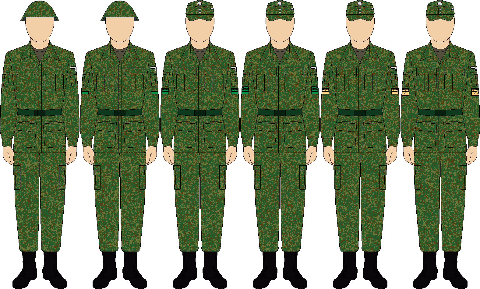 ss vs Wehrmacht Uniform Camouflage Uniform Waffen ss