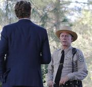 Jane and sheriff McAllister