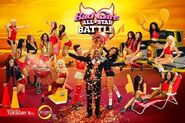 Bad Girls All-Star Battle (season 2) cast