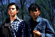 Ponyboy and Johnny