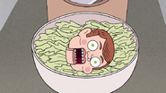 S7E09.103 Mr. Bossman Attempting to Eat His Way Out of the Salad