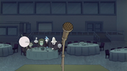 S7E02.153 The Guys Ready to Hear the Ghosts' Speech