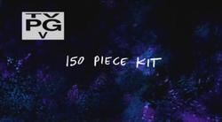 150 piece kit title screen