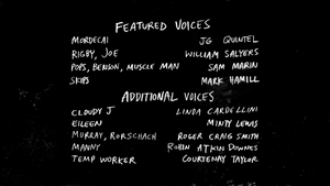S6E06 Lift With Your Back Credits