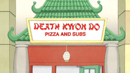 S4E13.022 Death Kwon Do Pizza and Subs