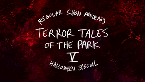 S7E09 Terror Tales of the Park V Title Card