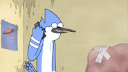 S4E34.045 Mordecai Talking with Starla on the Phone