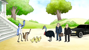 S6E24.169 Mordecai, Rigby, and Baby Ducks OOOOHH!
