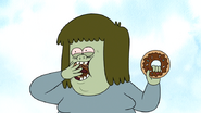 S4E34.055 Muscle Man Eating Donuts