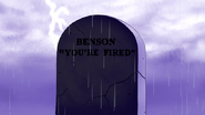 S5E30.075 Benson's Tombstone - You're Fired