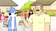 S6E20.148 Frank Apologizing to Mordecai for His Actions in the Beginning
