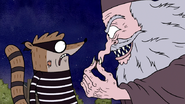 S3E04.236 The Wizard Holding Rigby's Fur
