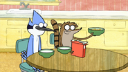 S2E11.041 Rigby Offering Cereal to Benson