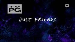 S7E12 Just Friends Title Card
