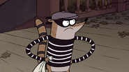 S3E04.211 Rigby Getting No Response From the Wizard