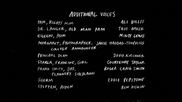 S7E36 Rigby's Graduation Day Special Credits 02