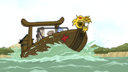S6E26.035 The Guys on a Death Kwon Boat