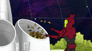 S8E02.029 Leaves Going in the Organic Fuel Synthesizer