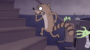 S7E09.352 Rigby Breaking Free From His Costume