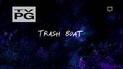Trashboat titlecard