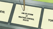 S7E05.444 Aim Ice Storm at Weather Control Booth Button