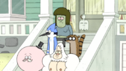 S6E02.003 Mordecai and Rigby Being Assigned Jobs