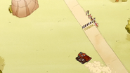 S6E02.129 The Vehicles Heading Towards Eagle's Rock