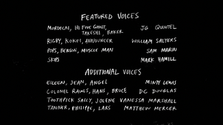 S8E13 The Space Race Credits