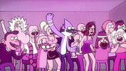 S2E09.131 Mordecai and Rigby Chanting Go!