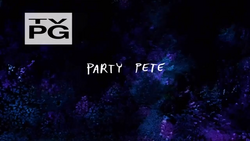 S2E09 PartyPeteTitlecard