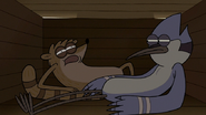 S6E13.217 Mordecai and Rigby Waking Up in a Crate
