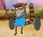Bodybuilder (rigby's body)