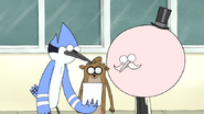 S4E26.024 Mordecai, Rigby, and Pops Looking at a Photo of Thomas