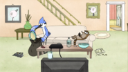 S03E16.001 Mordecai Cleaning Up