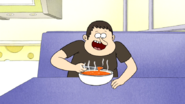S6E03.021 Man Eating Soup