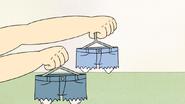 S6E26.033 Sensai Handing Out Cut-Off Jeans
