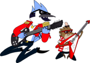 Future mordecai and rigby