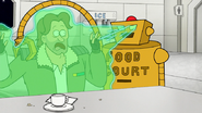 S8E05.012 Food Court Bot Putting Sureshot in a Force Field