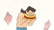 S4E13.014 A Guy Eating the Death Sandwich