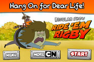 Regularshow rideemrigby ipodscreens hangon