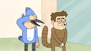 S7E05.297 Fake Mordecai and Rigby Closes Their Eyes