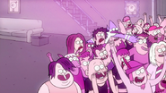 S2E09.150 Mordecai and Rigby Moving Through the Crowd 01